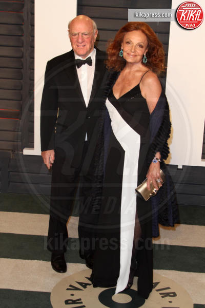 Barry Diller, Diane Von Furstenberg - Los Angeles - 28-02-2016 - Oscar 2016: il tradizionale party Vanity Fair