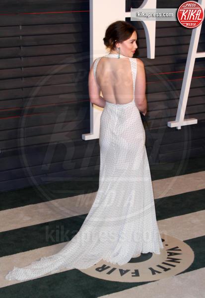 Emilia Clarke - Los Angeles - 28-02-2016 - Oscar 2016: il tradizionale party Vanity Fair