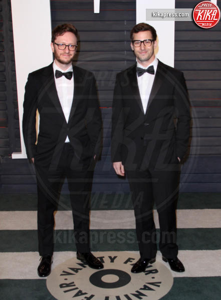 Akiva Schaffer, Andy Samberg - Los Angeles - 28-02-2016 - Oscar 2016: il tradizionale party Vanity Fair