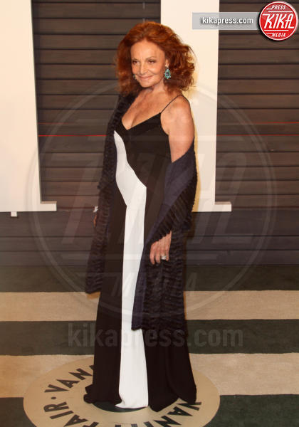 Diane von Furstenburg - Los Angeles - 28-02-2016 - Oscar 2016: il tradizionale party Vanity Fair