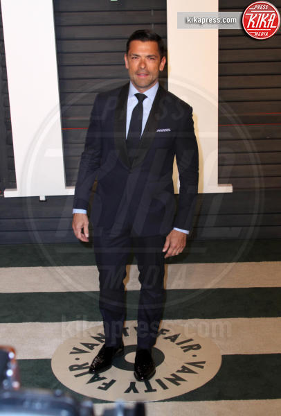 MARK CONSUELOS - Los Angeles - 28-02-2016 - Oscar 2016: il tradizionale party Vanity Fair