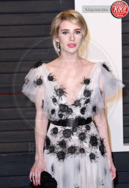 Emma Roberts - Los Angeles - 28-02-2016 - Oscar 2016: il tradizionale party Vanity Fair