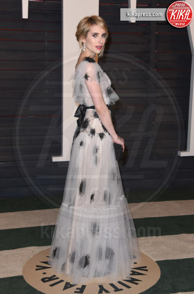 Emma Roberts - Beverly Hills - 28-02-2016 - Oscar 2016: il tradizionale party Vanity Fair