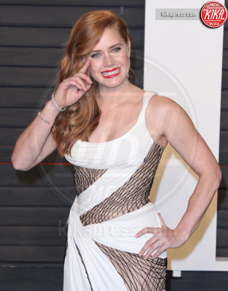 Amy Adams - Los Angeles - 28-02-2016 - Oscar 2016: il tradizionale party Vanity Fair