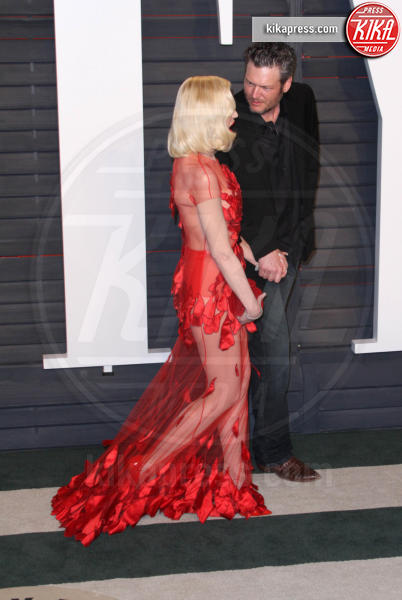 Blake Shelton, Gwen Stefani - Los Angeles - 28-02-2016 - Oscar 2016: il tradizionale party Vanity Fair