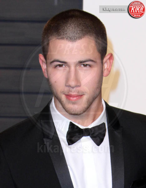 Nick Jonas - Los Angeles - 28-02-2016 - Oscar 2016: il tradizionale party Vanity Fair