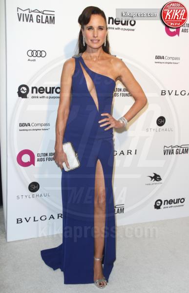 Andie MacDowell - Los Angeles - 28-02-2016 - Andie MacDowell protagonista della serie tv ABC, Model Woman