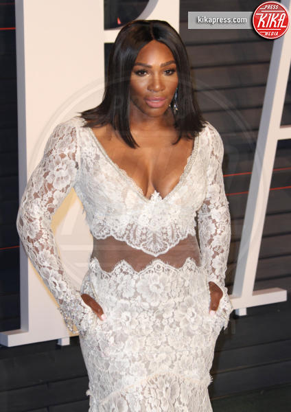 Serena Williams - Los Angeles - 28-02-2016 - Oscar 2016: il tradizionale party Vanity Fair