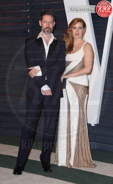 Darren Le Gallo, Amy Adams - Beverly Hills - 28-02-2016 - Oscar 2016: il tradizionale party Vanity Fair
