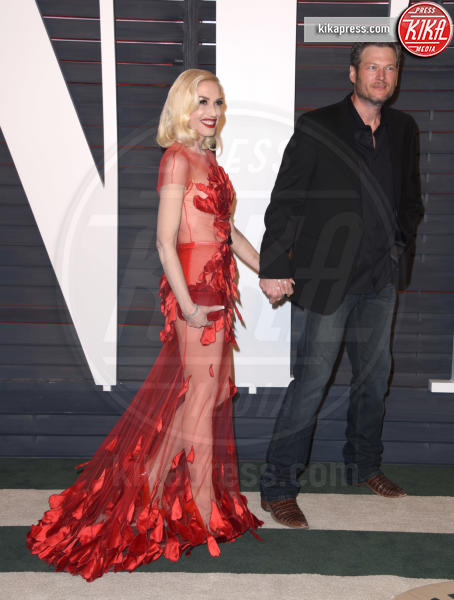 Blake Shelton, Gwen Stefani - Beverly Hills - 28-02-2016 - Oscar 2016: il tradizionale party Vanity Fair