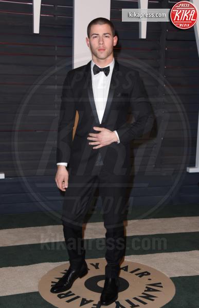 Nick Jonas - Beverly Hills - 28-02-2016 - Oscar 2016: il tradizionale party Vanity Fair