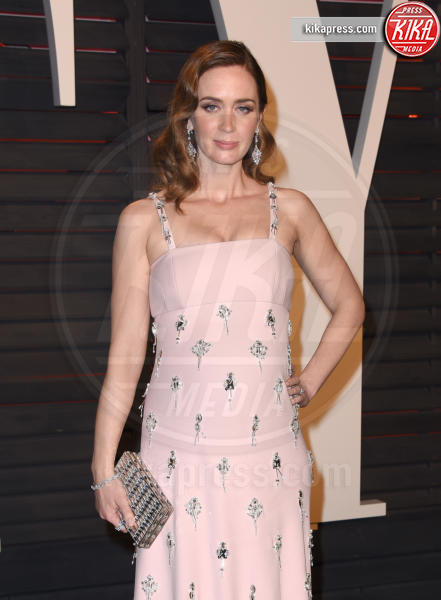 Emily Blunt - Beverly Hills - 28-02-2016 - Oscar 2016: il tradizionale party Vanity Fair