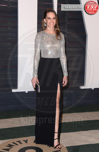 Hilary Swank - Beverly Hills - 28-02-2016 - Oscar 2016: il tradizionale party Vanity Fair