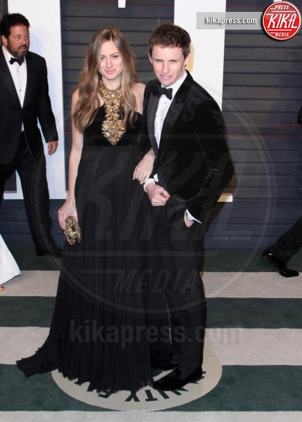 Hannah Bagshawe, Eddie Redmayne - Los Angeles - 28-02-2016 - Oscar 2016: il tradizionale party Vanity Fair