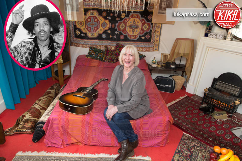 Kathy Etchingham, Jimi Hendrix - Londra - 08-02-2016 - Jimi Hendrix, la sua casa è diventata un museo