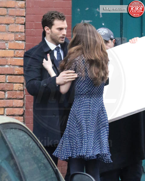 Jamie Dornan, Dakota Johnson - Vancouver - 01-03-2016 - 50 Sfumature di Nero, sesso vero tra Dornan e Dakota Johnson?