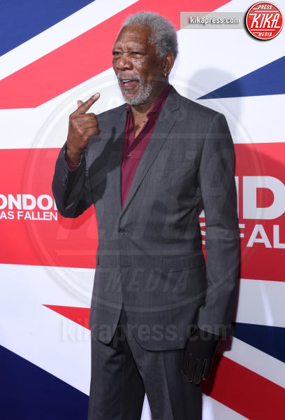 Morgan Freeman - Hollywood - 01-03-2016 - La mano sinistra di Morgan Freeman è paralizzata