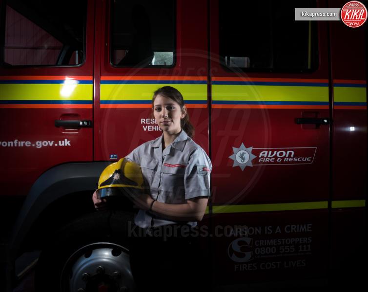 Ellie Watts - Somerset - 12-02-2016 - Miss Watts, 20 anni, il pompiere donna più giovane d'Inghilterra