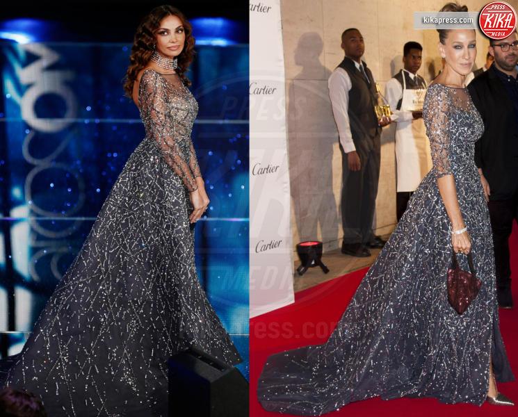 Madalina Ghenea, Sarah Jessica Parker - 04-03-2016 - Chi lo indossa meglio? Sanremo vs Hollywood