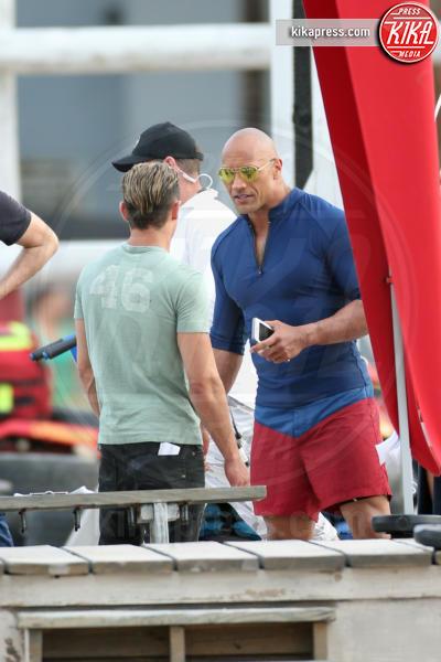 "Zac Efron, Dwayne ""The Rock"" Johnson - Miami - 04-03-2016 - Baywatch, Kelly Rohrbach è la nuova C.J. Parker"