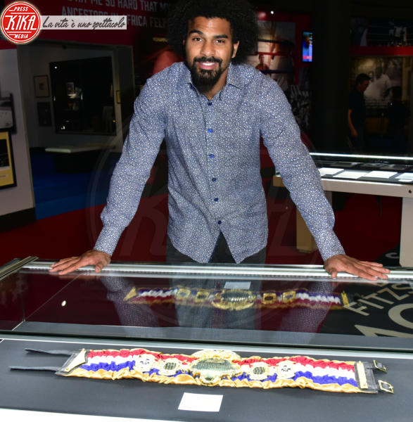 David Haye, Muhammad Ali - Londra - 03-03-2016 - I am the greatest, la mostra dedicata a Muhammad Ali
