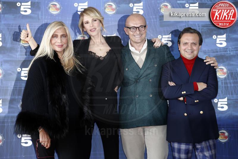 Alfonso Signorini, Piero Chiambretti, Alessia Marcuzzi, Mara Venier - Milano - 07-03-2016 - Isola dei famosi: squadra che vince non si cambia!
