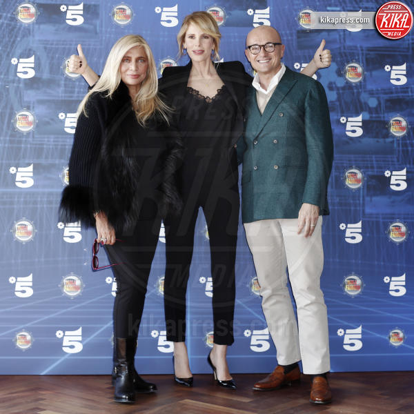 Alfonso Signorini, Alessia Marcuzzi, Mara Venier - Milano - 07-03-2016 - Alessia Marcuzzi è ambasciatrice del World Food Programme Italia