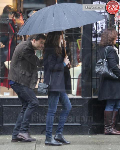 Jamie Dornan, Dakota Johnson - Vancouver - 07-03-2016 - Cinquanta Sfumature di Pioggia a Vancouver