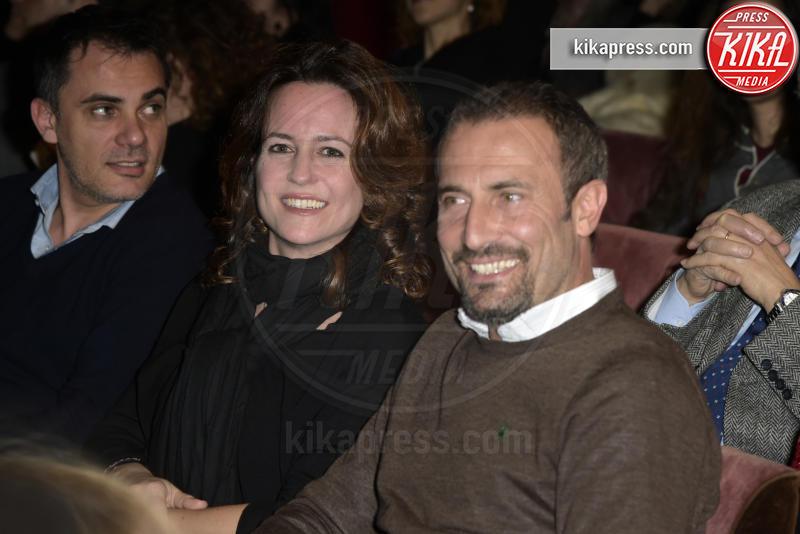 Giorgio Borghetti, Chiara Giordano - Roma - 08-03-2016 - Modigliani e le sue donne: Marco Bocci è l'artista