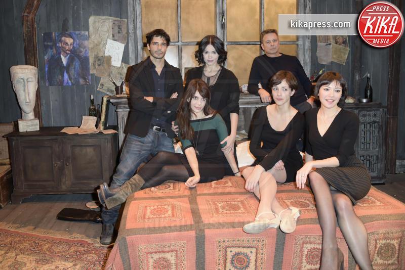 cast Modigliani e le sue donne - Roma - 08-03-2016 - Modigliani e le sue donne: Marco Bocci è l'artista