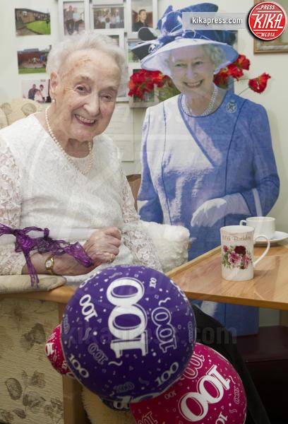 Margaret Lawson - Fife - 03-03-2016 - Margaret Lawson, 100 anni con la Regina!