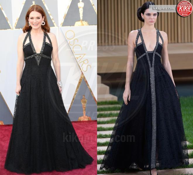 Kendall Jenner, Julianne Moore - 10-03-2016 - Chi lo indossa meglio? Julianne Moore e Kendall Jenner