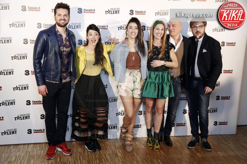 Lodovica Comello, Rocco Tanica, Frank Matano, Lucilla Agosti, Nina Zilli, Claudio Bisio - Milano - 10-03-2016 - Italia's got talent, dove il talento è di casa!