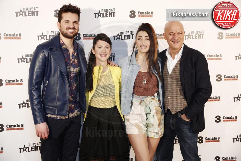 Lodovica Comello, Frank Matano, Nina Zilli, Claudio Bisio - Milano - 10-03-2016 - Italia's got talent, dove il talento è di casa!