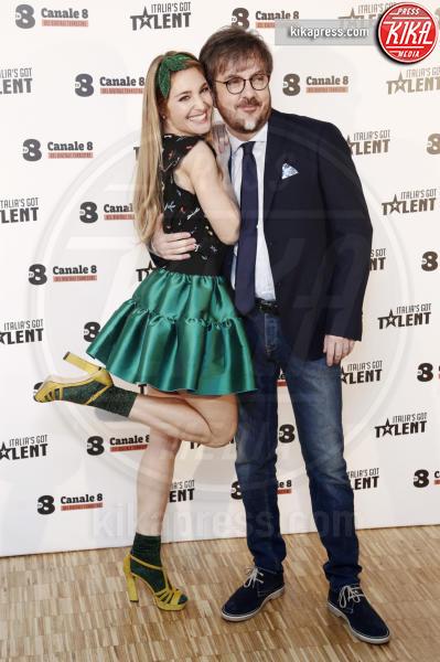 Rocco Tanica, Lucilla Agosti - Milano - 10-03-2016 - Italia's got talent, dove il talento è di casa!