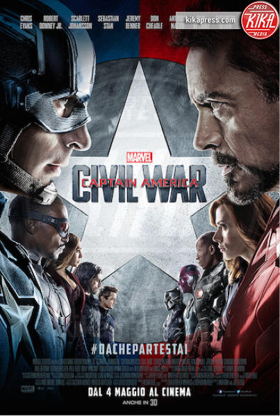 Captain America: Civil War - 11-03-2016 - Captain America: Civil War, il secondo trailer del film
