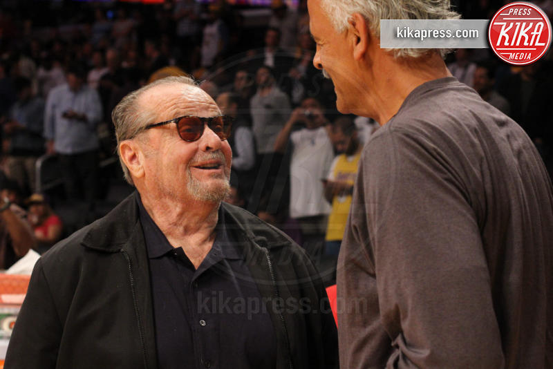 Stedman Graham, Jack Nicholson - Los Angeles - 10-03-2016 - Star come noi: quando il tifo...è vip!