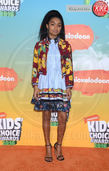 Yara Shahidi - Inglewood - 12-03-2016 - Heidi Klum splendida in Versace ai Kids' Choice Awards