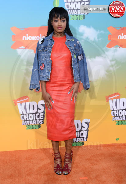 Keke Palmer - Inglewood - 12-03-2016 - Heidi Klum splendida in Versace ai Kids' Choice Awards