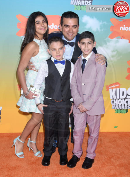 Buddy Valastro - Inglewood - 12-03-2016 - Heidi Klum splendida in Versace ai Kids' Choice Awards