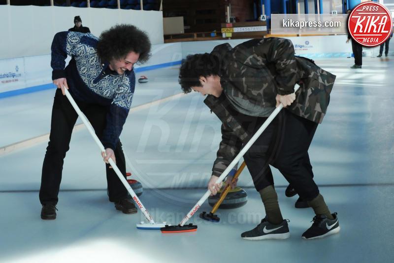 Cristiano Caccamo, Anna Ferraioli Ravel - Cortina - 16-03-2016 - Cortinametraggio, quando il fuori programma si chiama curling