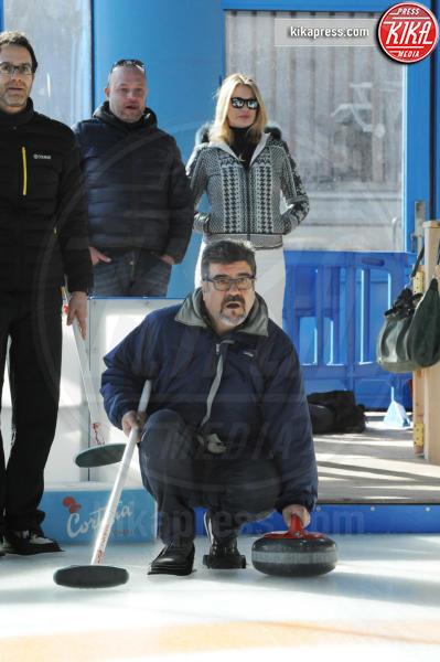 Fausto Sciarappa, Francesco Pannofino - Cortina - 16-03-2016 - Cortinametraggio, quando il fuori programma si chiama curling