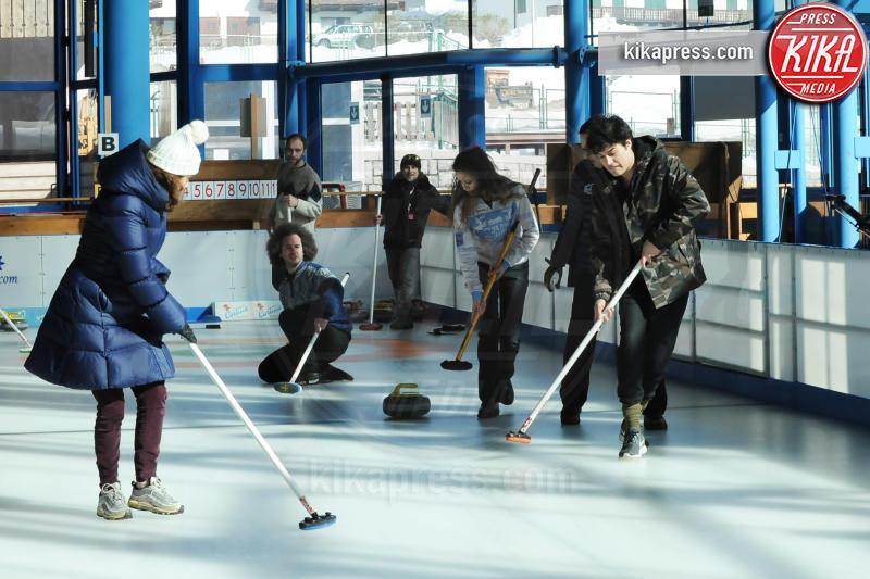 Cristiano Caccamo, Maria Cristina Heller - Cortina - 16-03-2016 - Cortinametraggio, quando il fuori programma si chiama curling