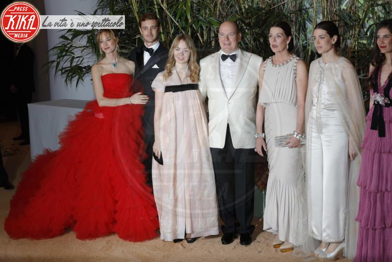 Principe Alberto di Monaco, Principessa Carolina di Monaco, Alexandra di Hannover, Pierre Casiraghi, Charlotte Casiraghi, Beatrice Borromeo - Monaco - 19-03-2016 - Charlotte Casiraghi di nuovo incinta