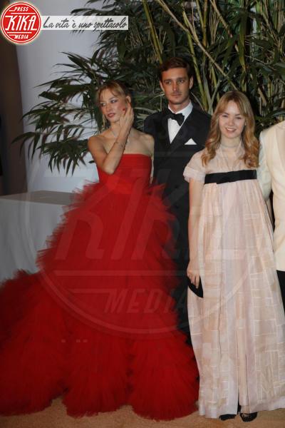 Alexandra di Hannover, Pierre Casiraghi, Beatrice Borromeo - Monaco - 19-03-2016 - La famiglia reale monegasca si riunisce al Bal de la Rose