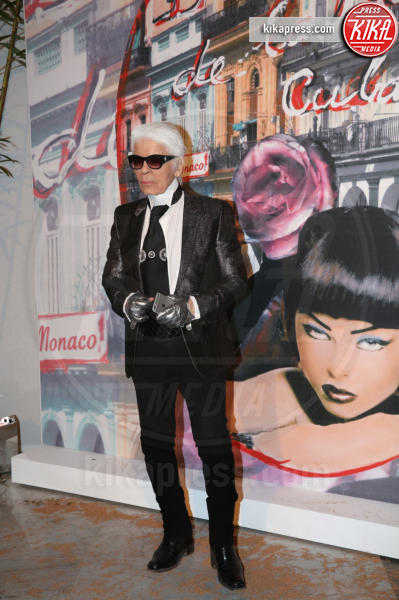 Karl Lagerfeld - Monaco - 19-03-2016 - La famiglia reale monegasca si riunisce al Bal de la Rose