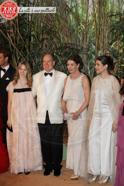 Principe Alberto di Monaco, Principessa Carolina di Monaco, Alexandra di Hannover, Charlotte Casiraghi - Monaco - 19-03-2016 - La famiglia reale monegasca si riunisce al Bal de la Rose