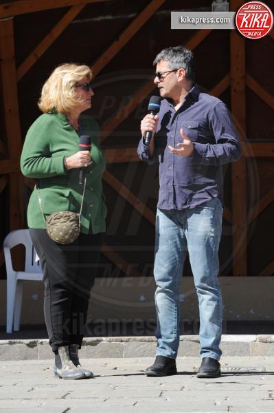Paolo Genovese, Maddalena Mayneri - Cortina d'Ampezzo - 19-03-2016 - Cortinametraggio chiude, ecco tutti i vincitori