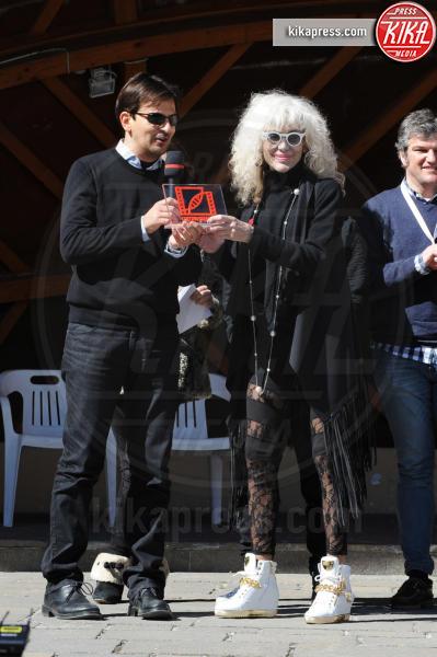 Donatella Rettore, Davide Minnella - Cortina d'Ampezzo - 19-03-2016 - Cortinametraggio chiude, ecco tutti i vincitori