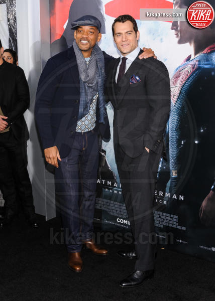 Henry Cavill, Will Smith - New York - 21-03-2016 - Batman v Superman: è giunto il momento